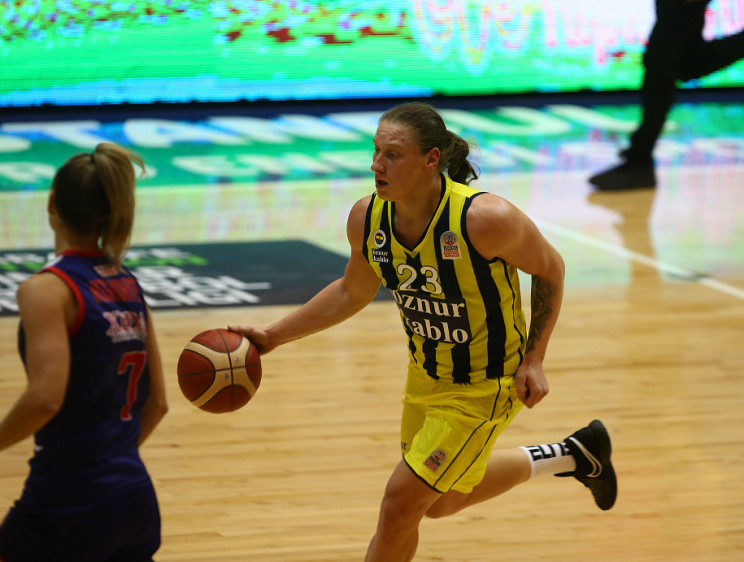 Украинская баскетболистка второй раз под…