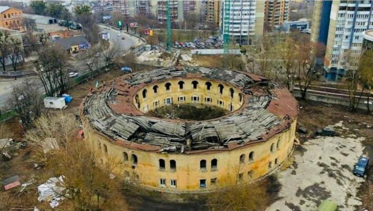 Відновлення вежі Київської фортеці: Як р…