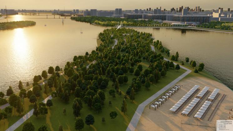 Міст-хвиля та рекреаційна зона: У Києві…