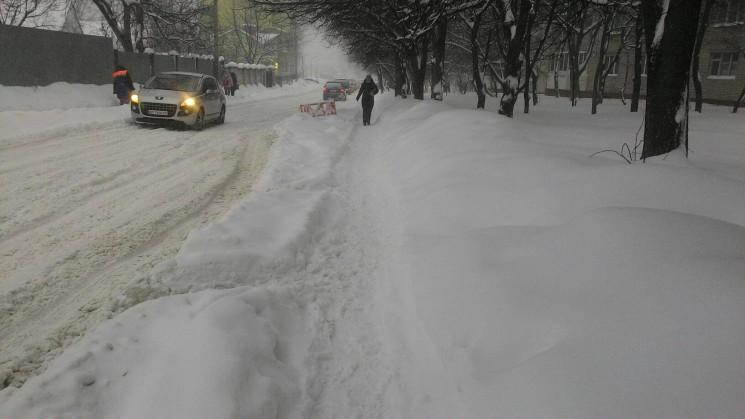 Що у Львові накоїв снігопад (ФОТОРЕПОРТА…