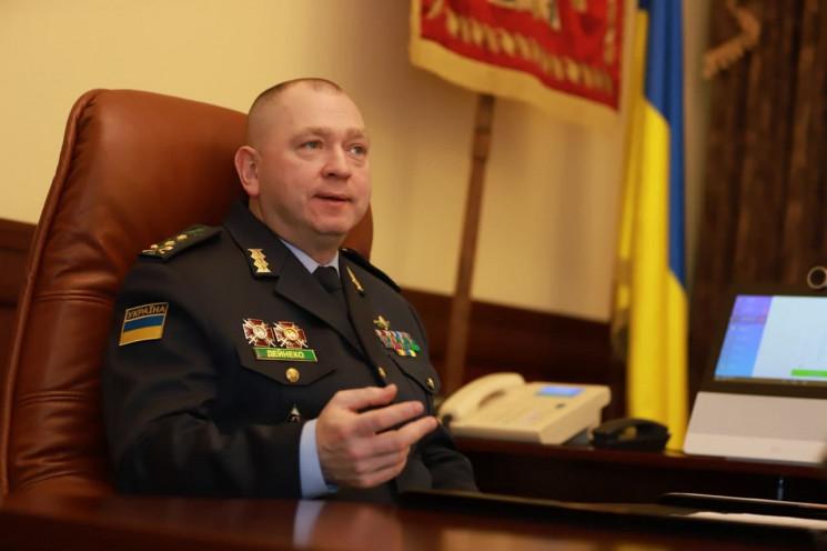 Голова Держприкордонслужби України Дейне…