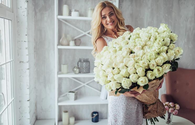 Букет из 101 розы на Валентина: Сколько…