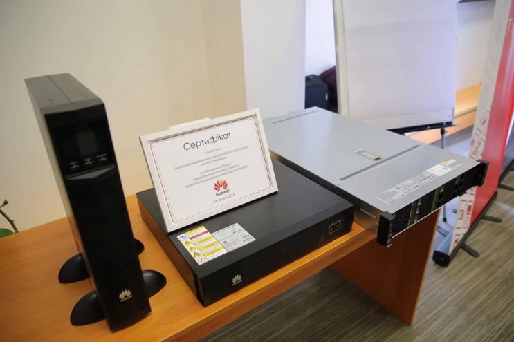 Huawei предоставил оборудование для Льво…