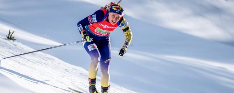 Чотири українські біатлоністки біжать ін…