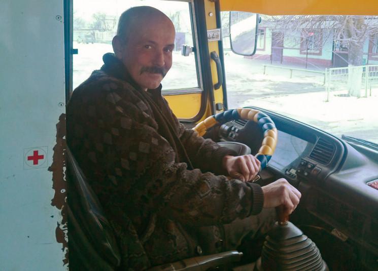 У Херсоні водій маршрутки возить школярі…