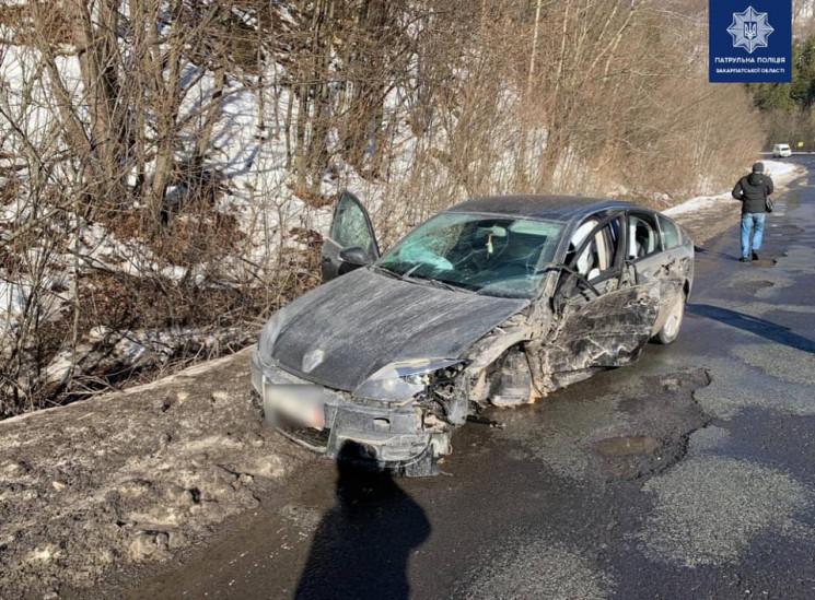 У Свалявському районі п'яний водій зіткн…