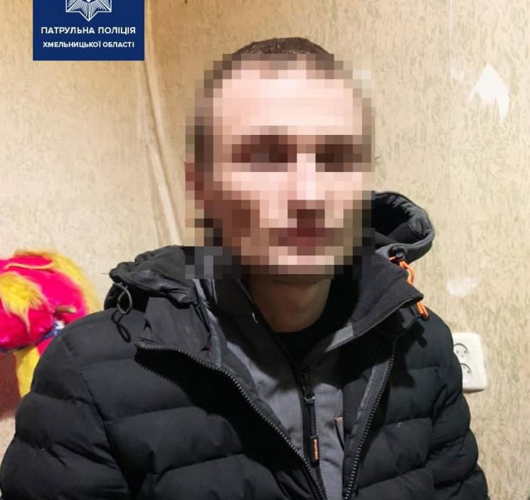 Патрульні в Хмельницькому піймали молоди…