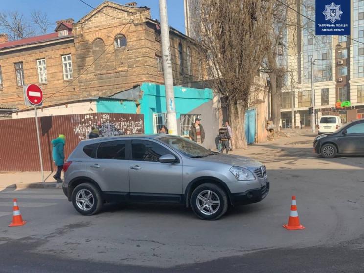 На Молдаванці в результаті зіткнення авт…