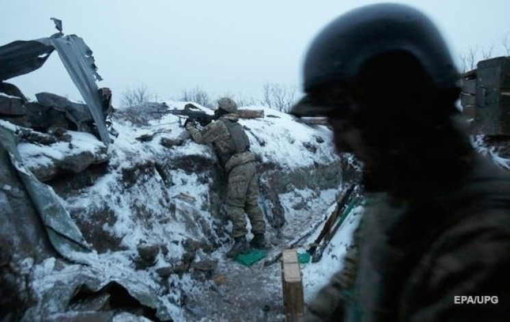 Окупанти закидали мінами позиції ЗСУ біл…