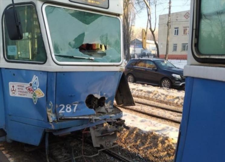 У Вінниці на Хмельницькому шосе зіткнули…