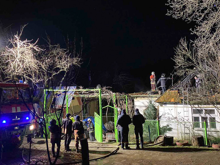 На Іршавщині сталася масштабна пожежа у…