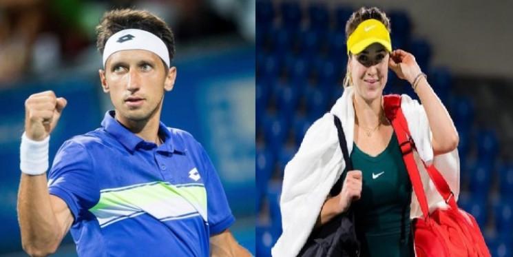 Найкращі українські тенісист і тенісистк…