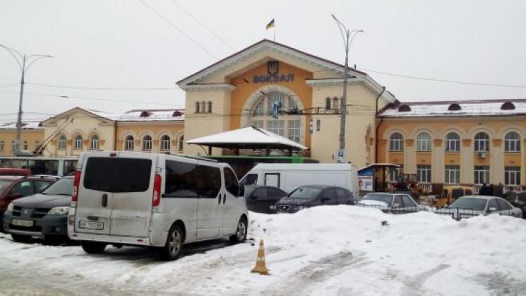 На залізничному вокзалі вінницьким патру…