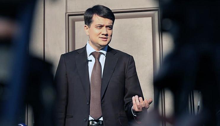 Разумков посоветовал сторонникам Стернен…