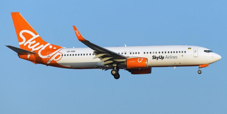 SkyUp запускає рейси із Запоріжжя до Чор…