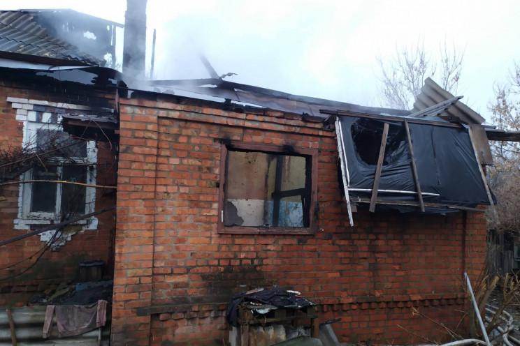 На Харьковщине в горящем доме нашли труп…