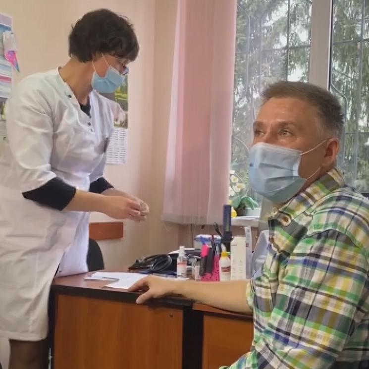 На Вінниччині вакцинувалося від коронаві…