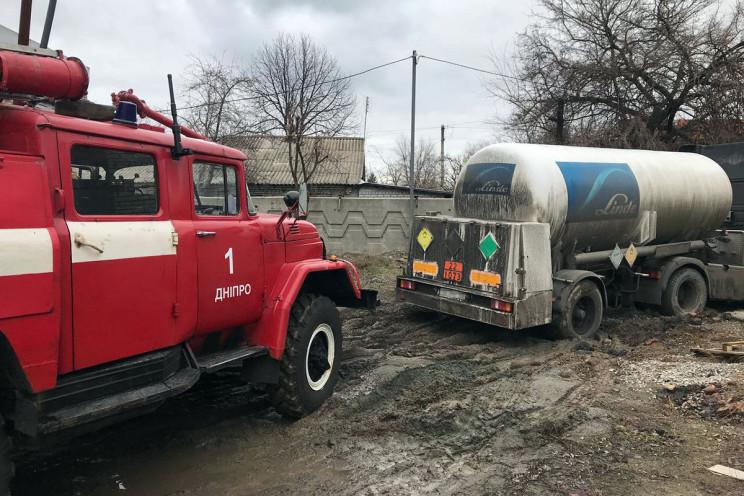 У Дніпрі на території лікарні вантажівка…