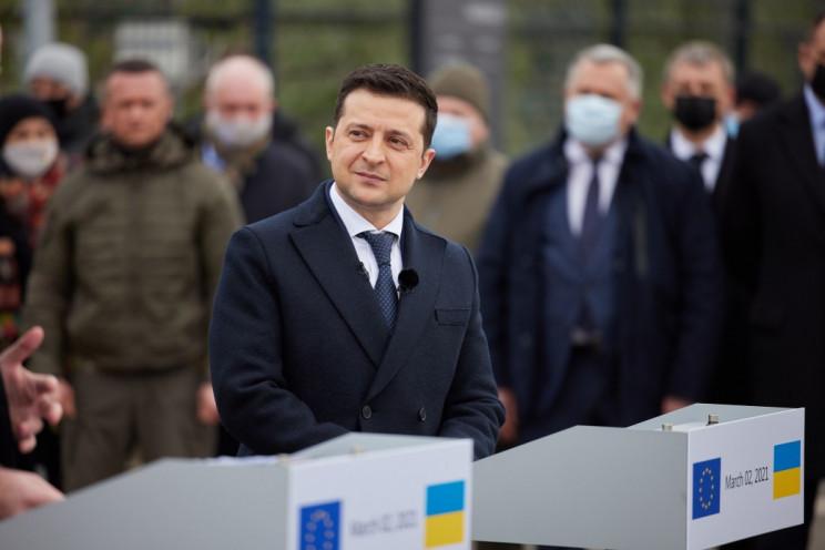 Зеленский призвал Евросоюз усилить давле…