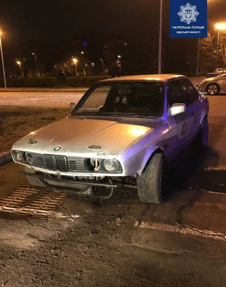 В центрі Одеси поліцейські піймали дрифт…
