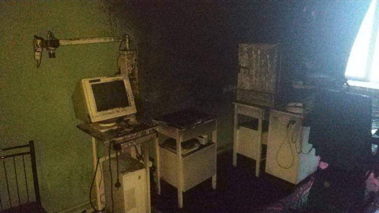 В Одесі здійнялась пожежа в школі-інтерн…