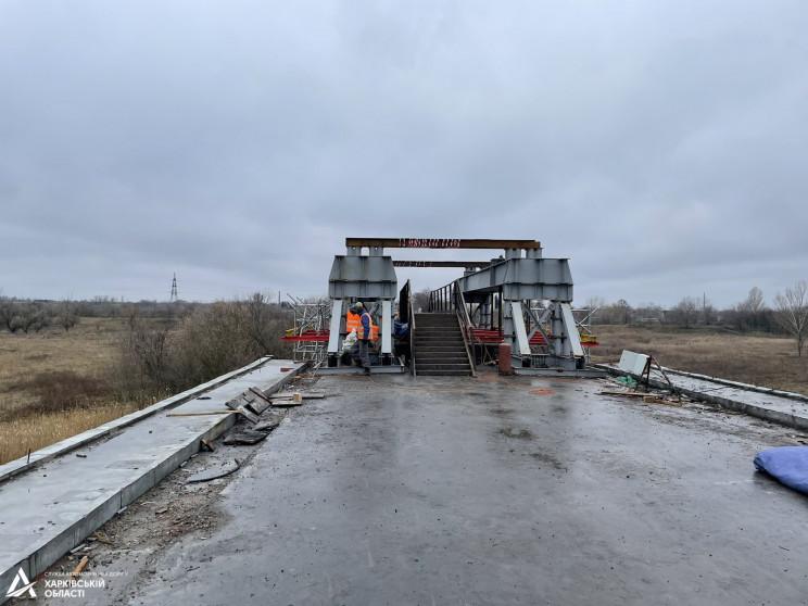 На границе Харьковской области ремонтиру…