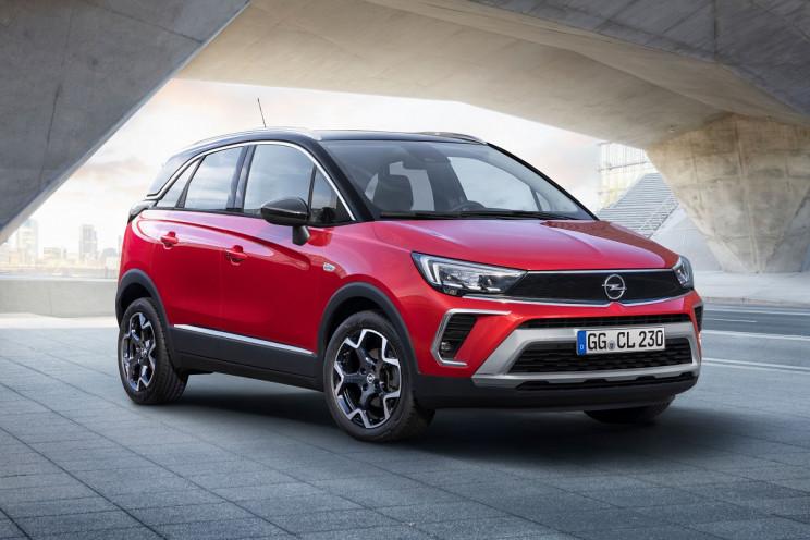 Кросовер Opel Crossland 2021 в Україні:…