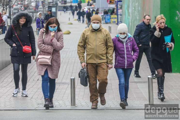 """МОЗ включив Київ та Київську область в """"…"""