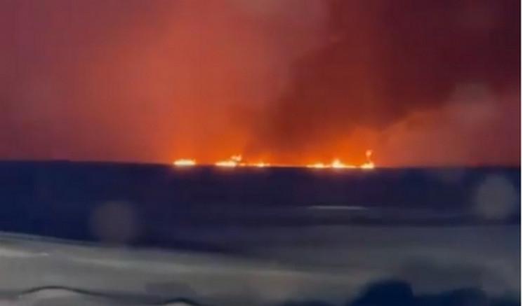 На Росії спалахнув підводний трубопровід…