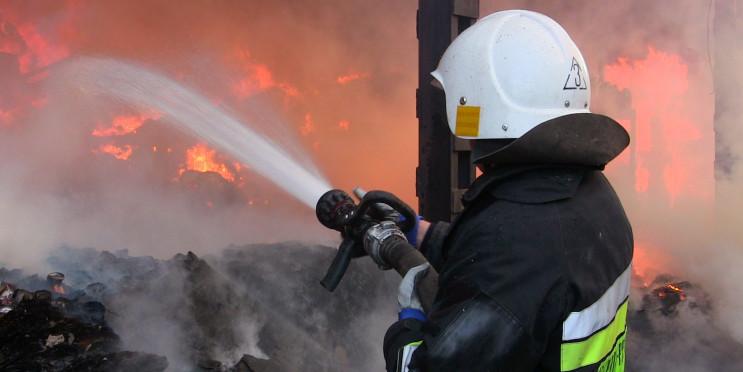 В жилом доме возник пожар: Харьковские с…