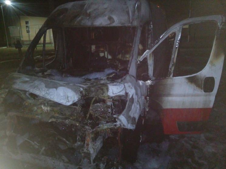 У Бродах згорів автомобіль (ФОТО)…