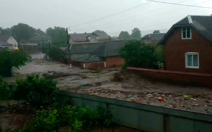 Вселенский потоп: Одно из сел на Тернопо…