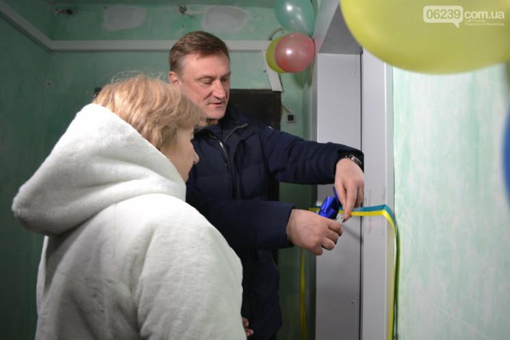 Андрій Аксьонов відкриває ліфт