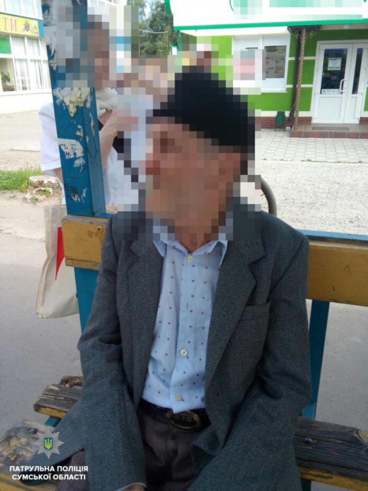 У Сумах знайшли зниклого 74-річного діду…