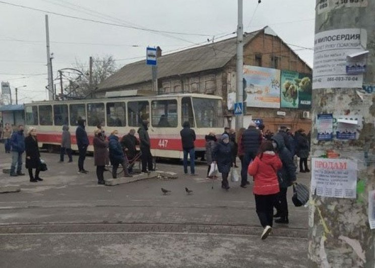 У Запоріжжі підприємці протестували прот…