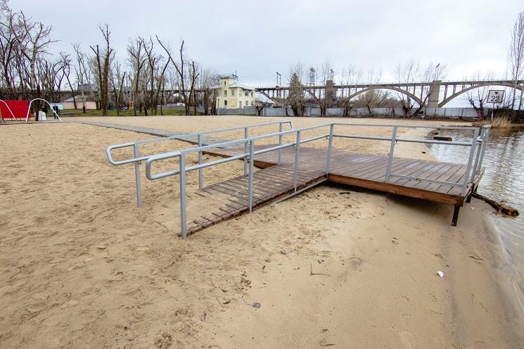 Пляж у Дніпрі претендує на міжнародний с…