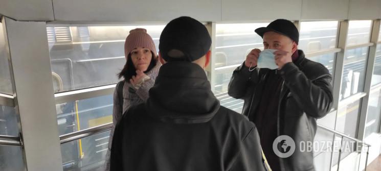 У Києві пасажири потягів масово відмовля…