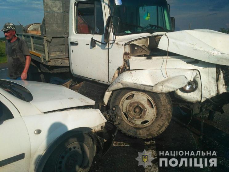 В автоаварии на Львовщине травмировались…