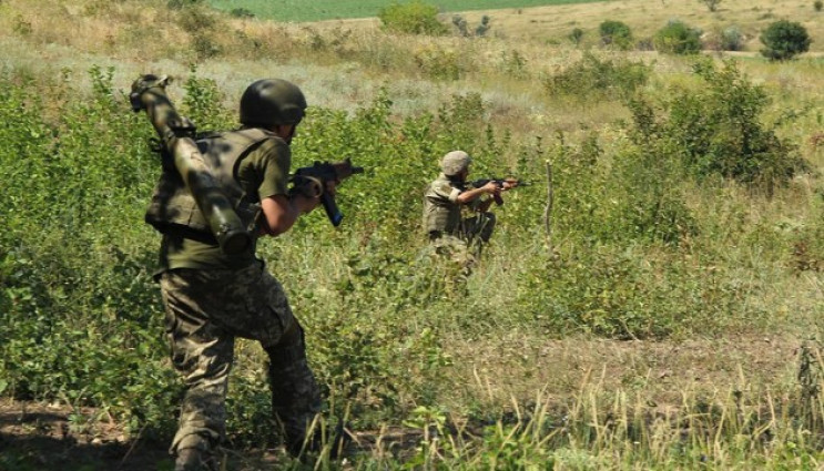 ВСУ ранили 10 боевиков и уничтожили их т…