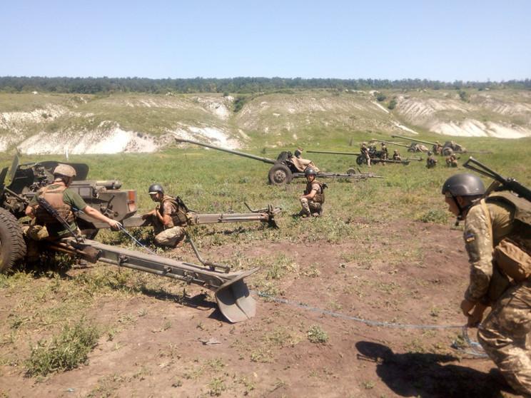 Тернопольские артиллеристы заняли два пр…