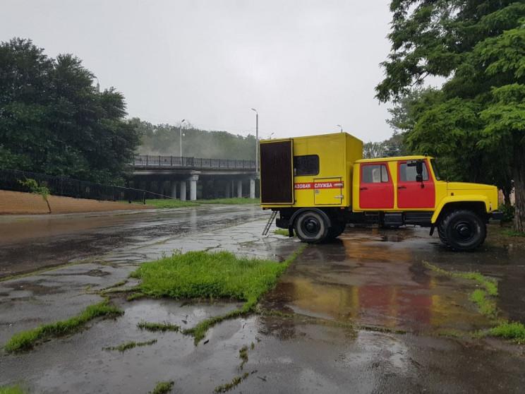 В Луганську в парку вибухнув газогін: По…