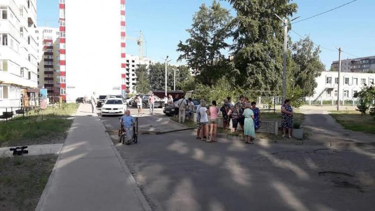 Сумчани на проспекті Лушпи перекривали д…