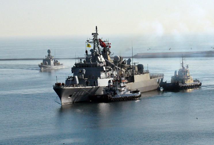 До Одеського порту зайшли турецькі війсь…