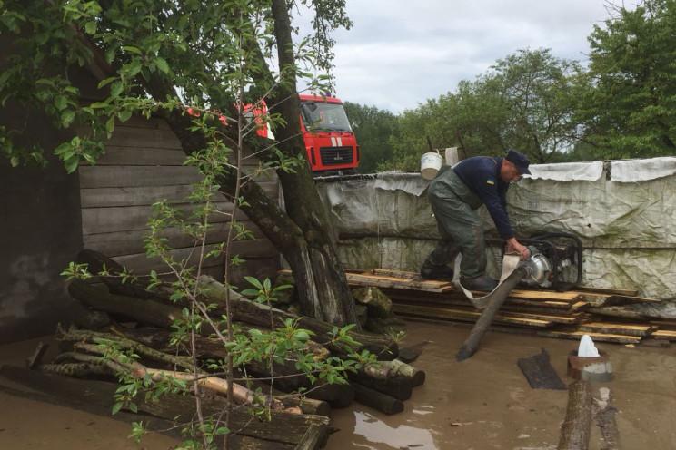 Знову затопило: На Хмельниччині бійці ДС…