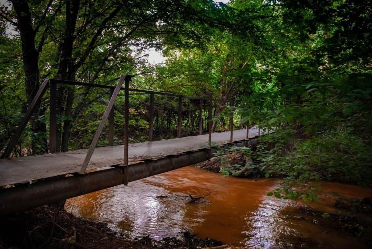 В окупованій Горлівці річка стала коричн…
