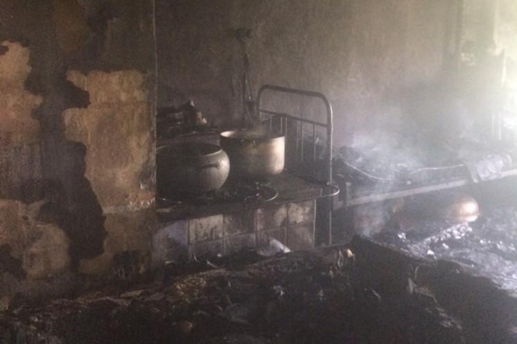 У Сокирянському районі внаслідок пожежі…