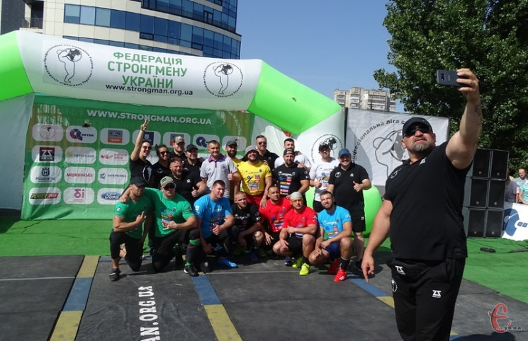 Стронгмены из Винницкой области победили…