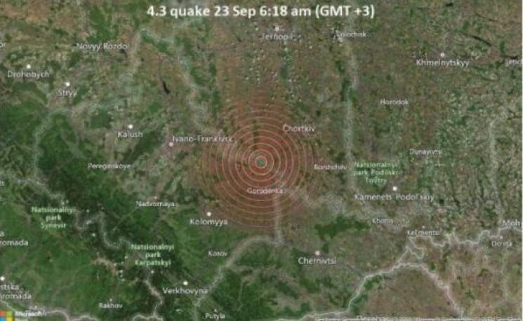 До Вінниччини докотився землетрус із Тер…