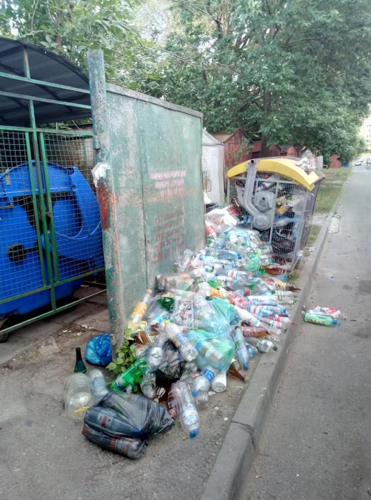 Львов снова утопает в мусоре (ФОТО)…