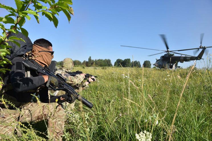 Хмельницкие спецназовцы готовятся к защи…